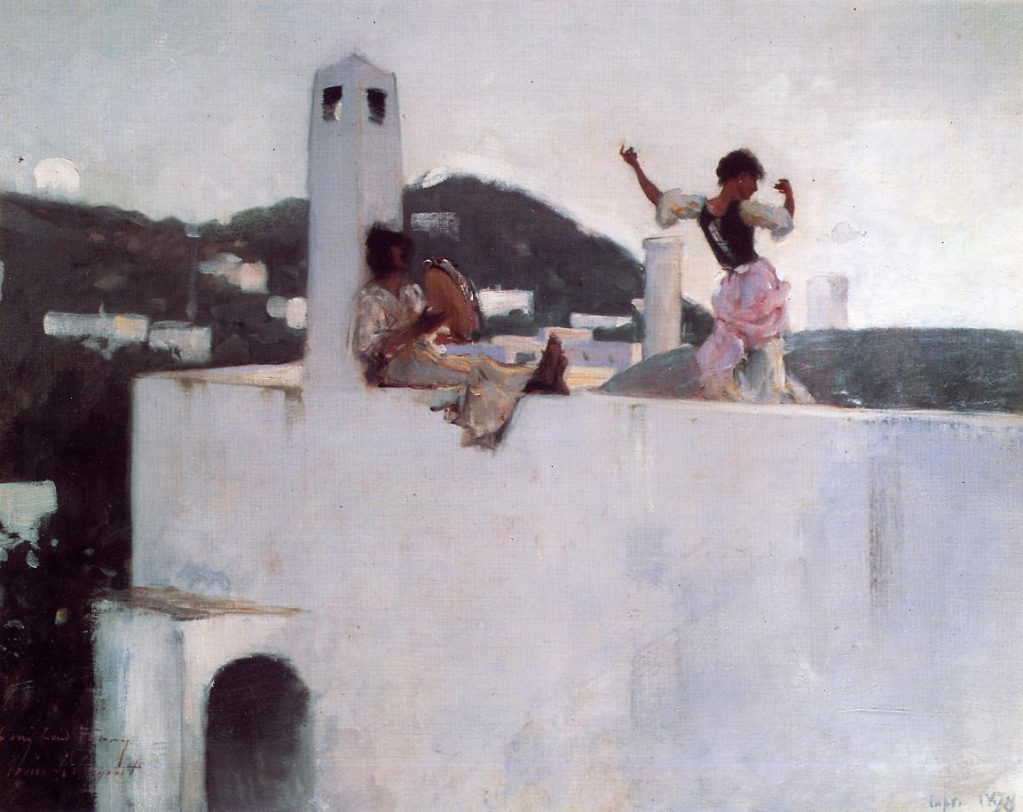 Capri 1878 | John Singer Sargent | Oil Painting