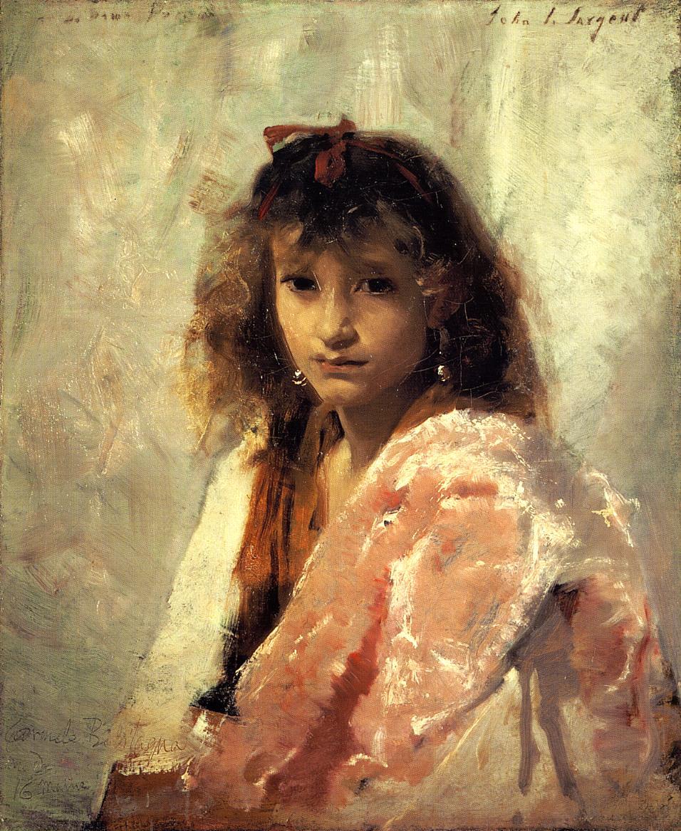 Carmela 1879 | John Singer Sargent | Oil Painting