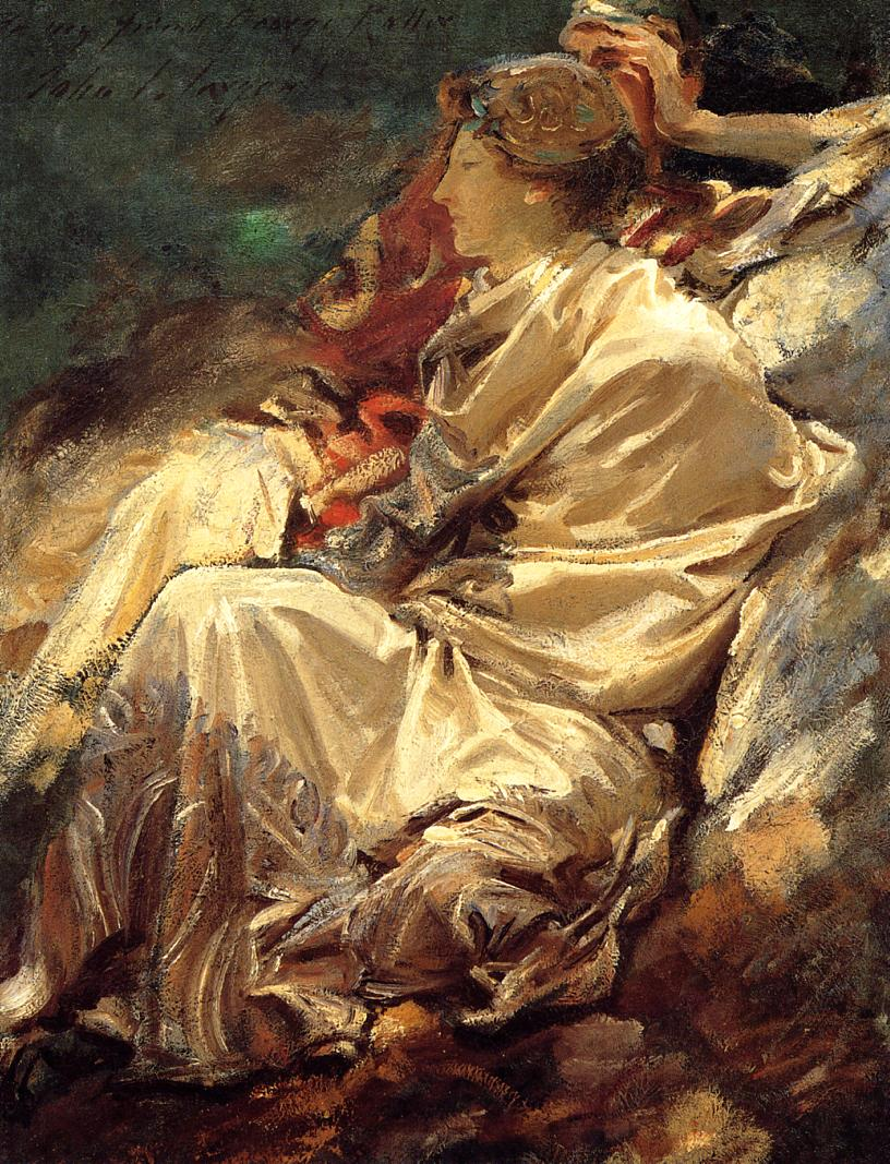 Cashmere Shawl 1910 | John Singer Sargent | Oil Painting