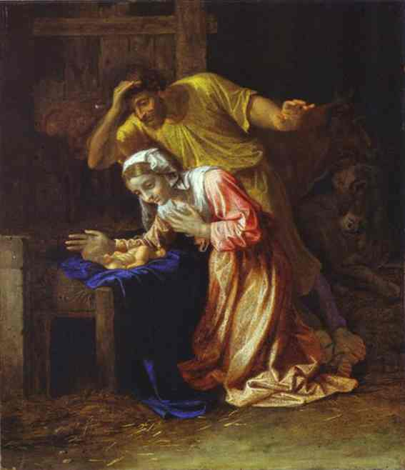 The Nativity 1650s | Nicolas Poussin | Oil Painting