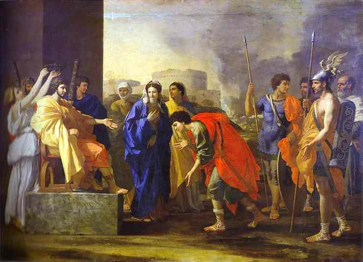 The Noble Deed Of Scipio 1640 | Nicolas Poussin | Oil Painting