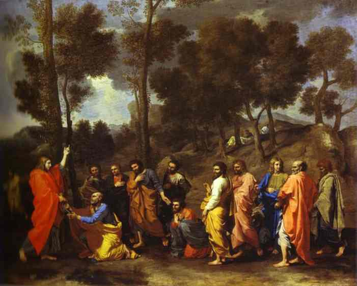 The Ordination 1640s | Nicolas Poussin | Oil Painting