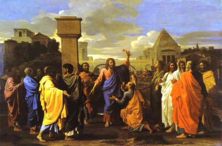 The Ordination 1647 | Nicolas Poussin | Oil Painting