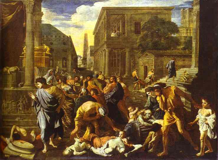 The Plague Of Ashdod 1631 | Nicolas Poussin | Oil Painting