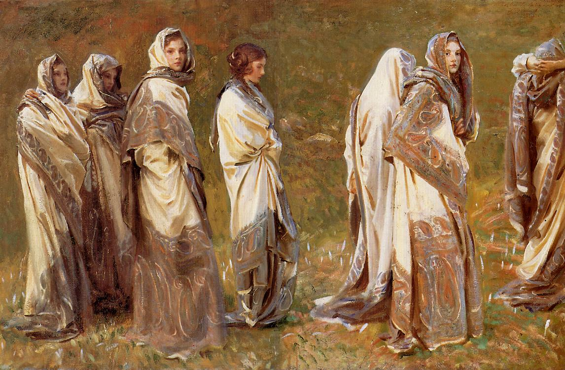 Cashmere 1908 | John Singer Sargent | Oil Painting