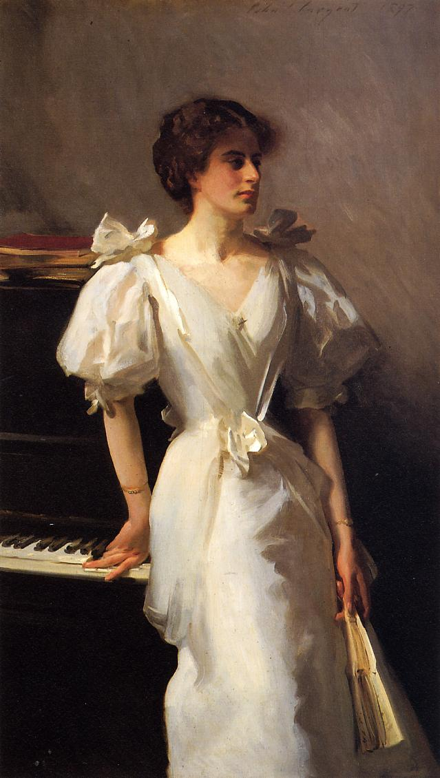 Catherine Viasto 1897 | John Singer Sargent | Oil Painting