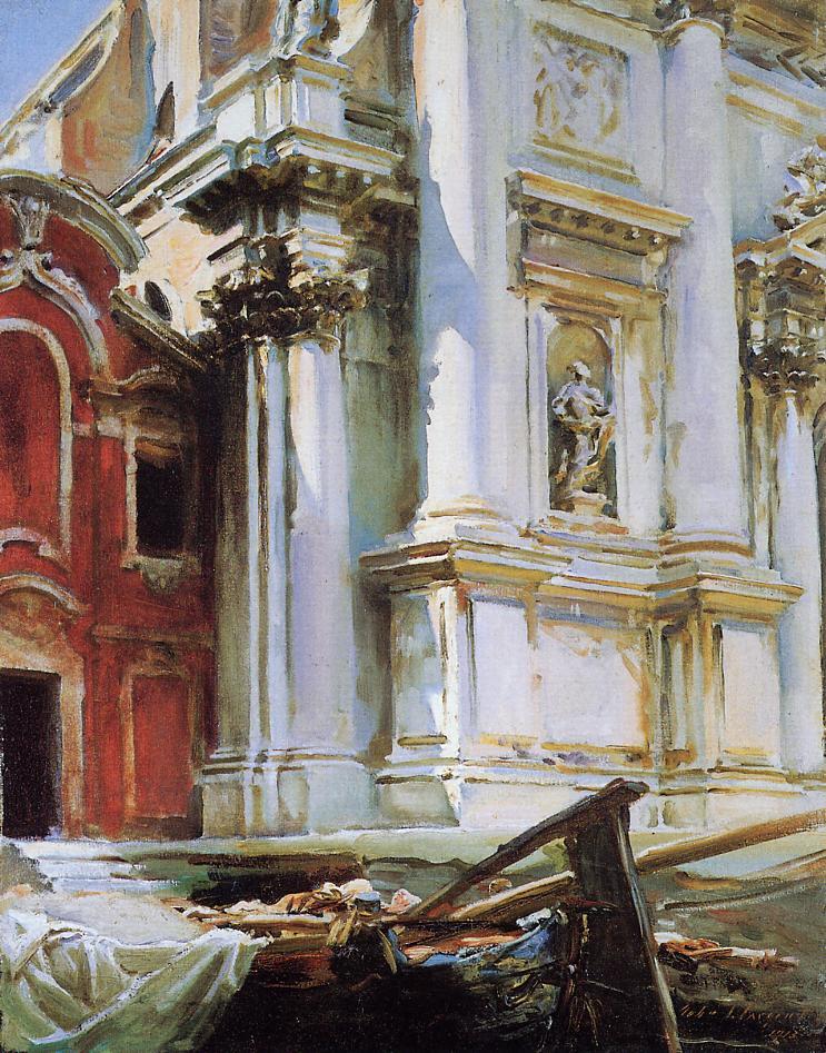Church of St Stae Venice 1913 | John Singer Sargent | Oil Painting