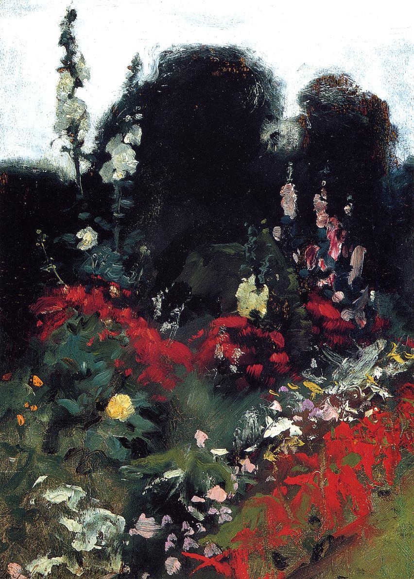 Corner of a Garden 1879 | John Singer Sargent | Oil Painting