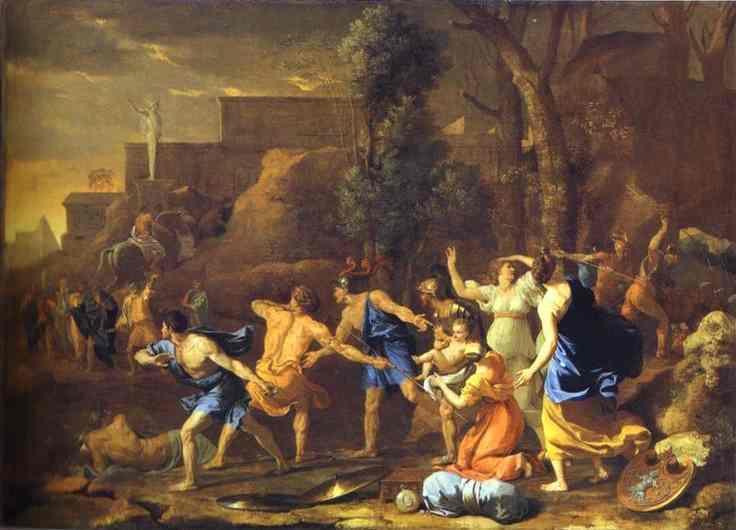 The Rescue Of Pyrrhus 1634 | Nicolas Poussin | Oil Painting