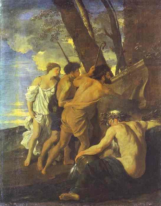 The Shepherds Of Arcadia 1627 | Nicolas Poussin | Oil Painting