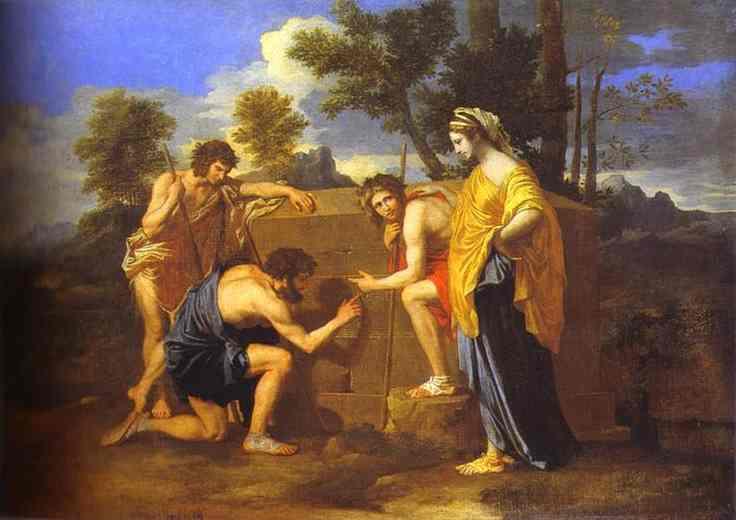 The Shepherds Of Arcadia 1638 | Nicolas Poussin | Oil Painting