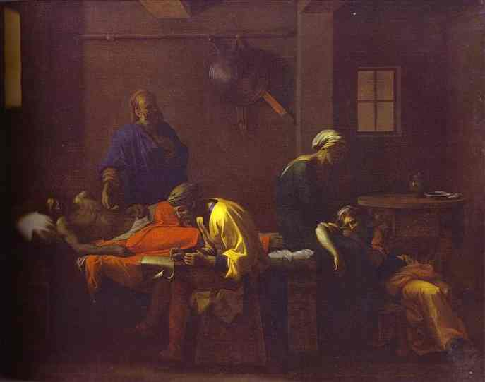 The Testament Of Eudamidas 1643-1644 | Nicolas Poussin | Oil Painting