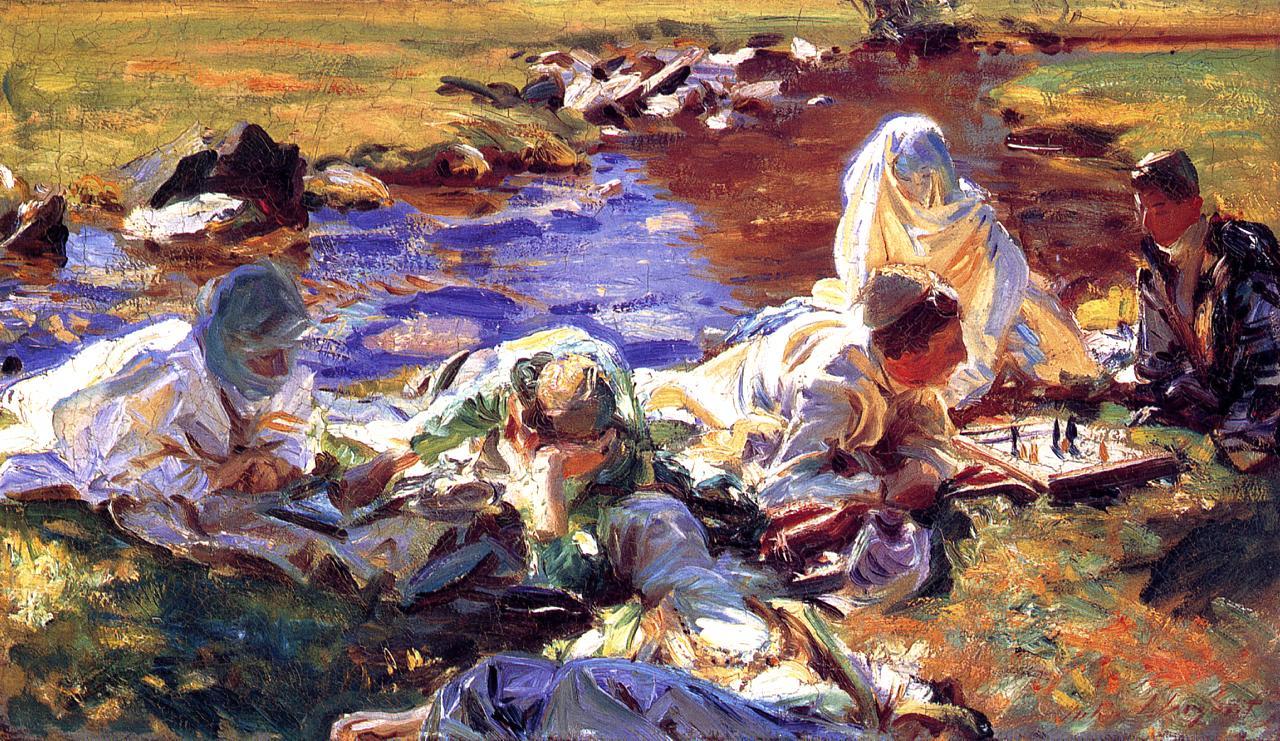 Dolce Far Niente 1907 | John Singer Sargent | Oil Painting