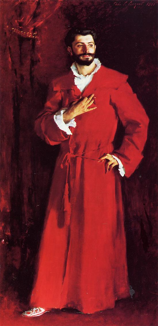 Dr Pozzi at Home 1881 | John Singer Sargent | Oil Painting