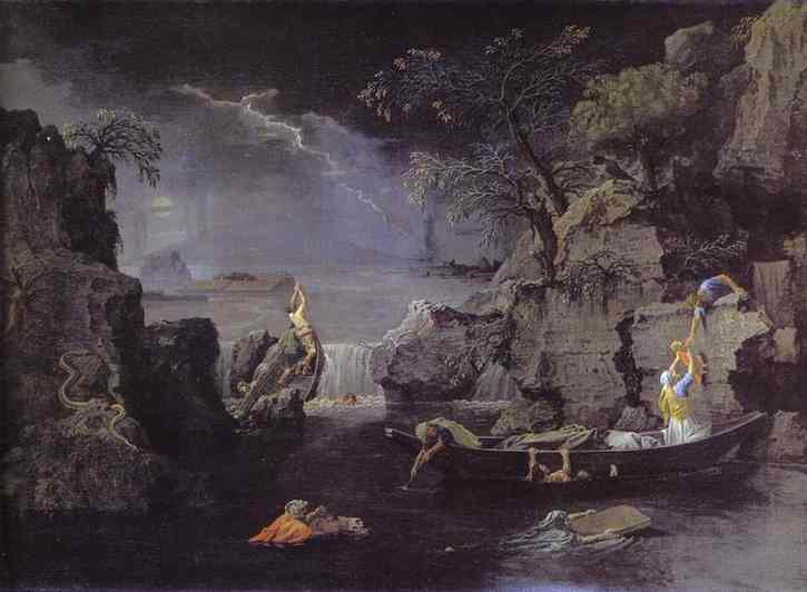Winter The Deluge 1660-1664 | Nicolas Poussin | Oil Painting