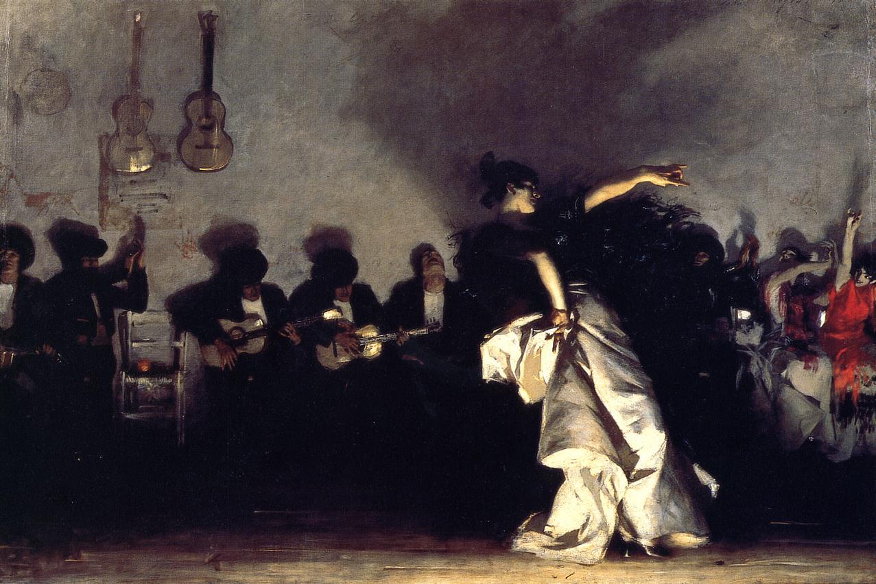 El Jaleo 1882 | John Singer Sargent | Oil Painting