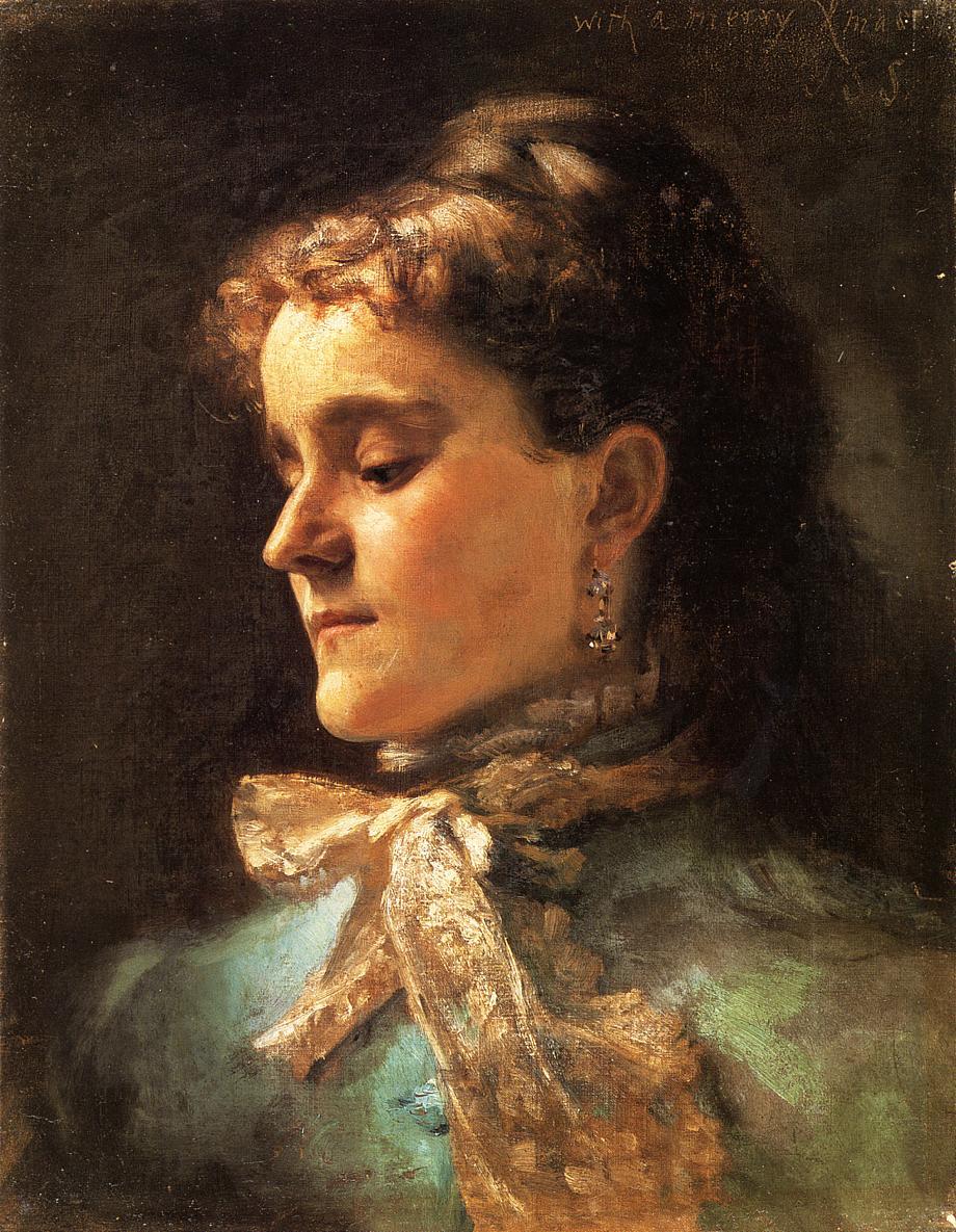 Emily Sargent 1877 | John Singer Sargent | Oil Painting