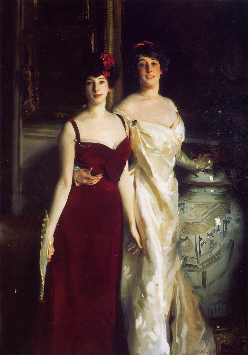 Ena and Betty Daughters of Asher and Mrs Wertheimer 1901 | John Singer Sargent | Oil Painting
