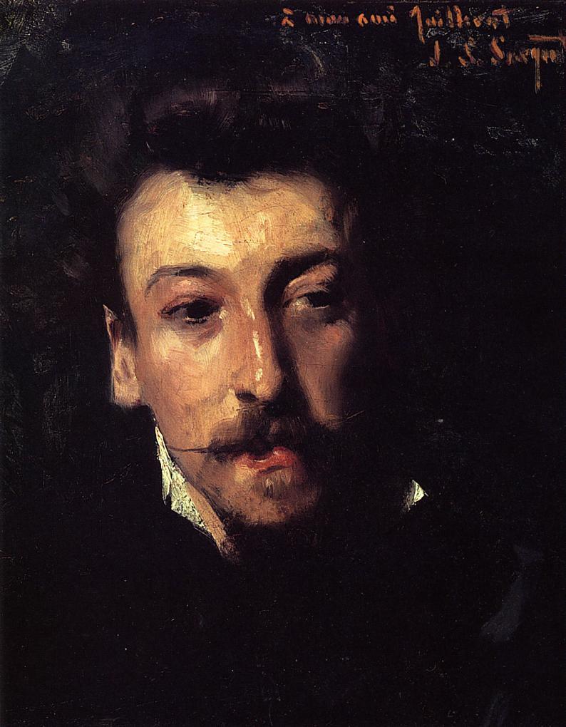 Eugene Juillerat 1877-1878 | John Singer Sargent | Oil Painting