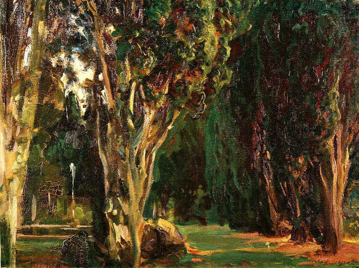 Falconieri Gardens Frascati 1907 | John Singer Sargent | Oil Painting