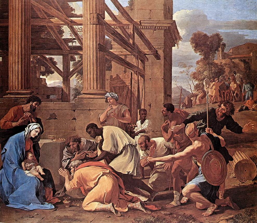 Adoration Of The Magi 1633 | Nicolas Poussin | Oil Painting