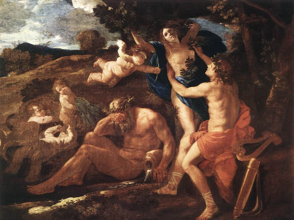 Apollo And Daphne 1625 | Nicolas Poussin | Oil Painting
