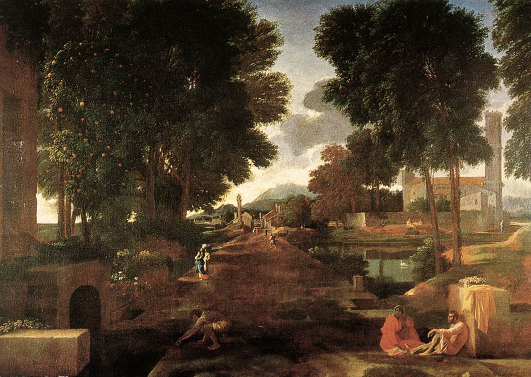 A Roman Road 1648 | Nicolas Poussin | Oil Painting