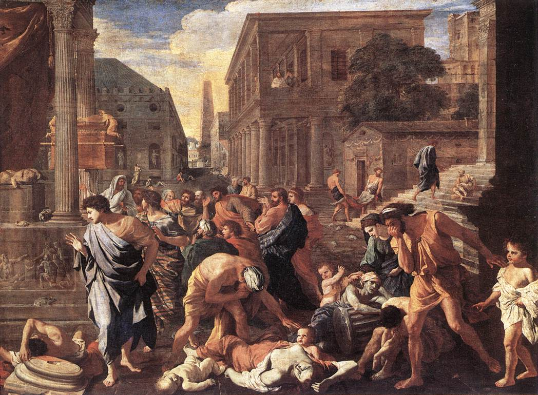 The Plague At Ashdod 1630 | Nicolas Poussin | Oil Painting