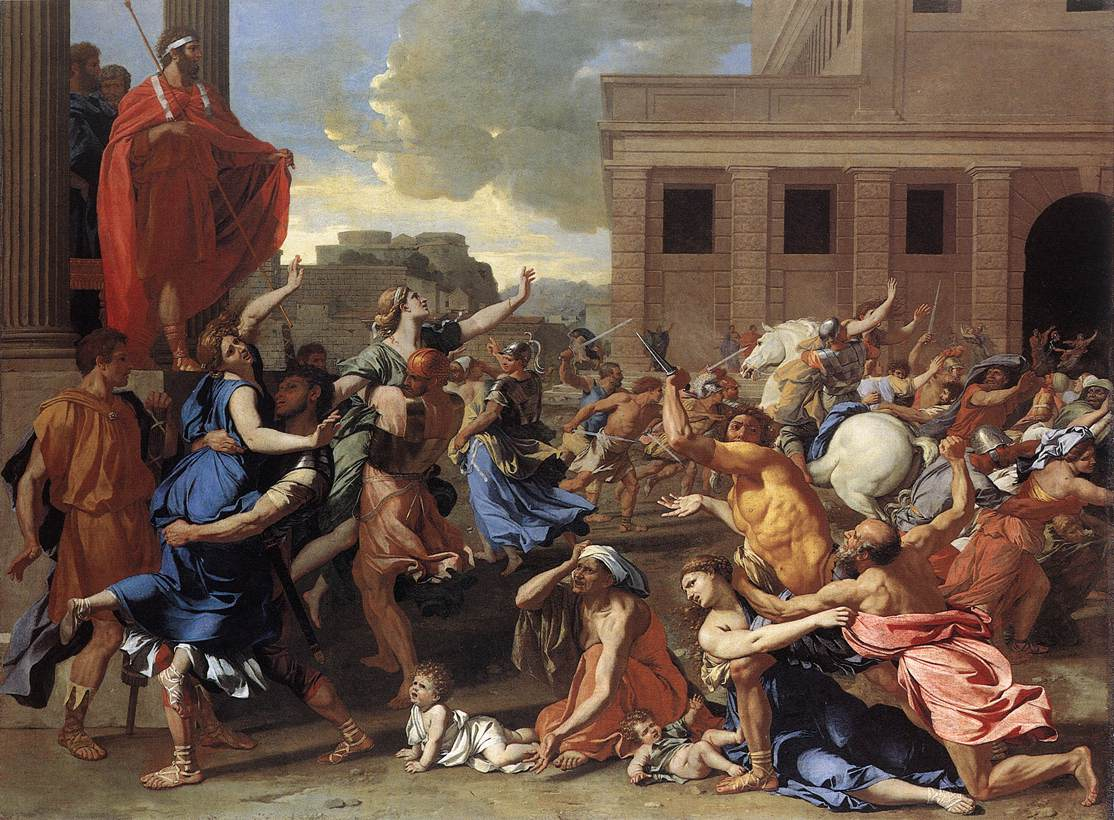 The Rape Of The Sabine Women 1634 | Nicolas Poussin | Oil Painting
