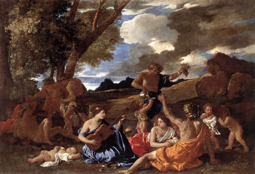 Bacchanal The Andrians 1628 | Nicolas Poussin | Oil Painting