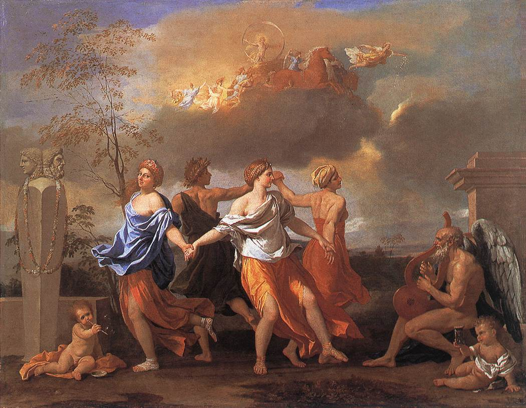 Dance To The Music Of Time 1638 | Nicolas Poussin | Oil Painting
