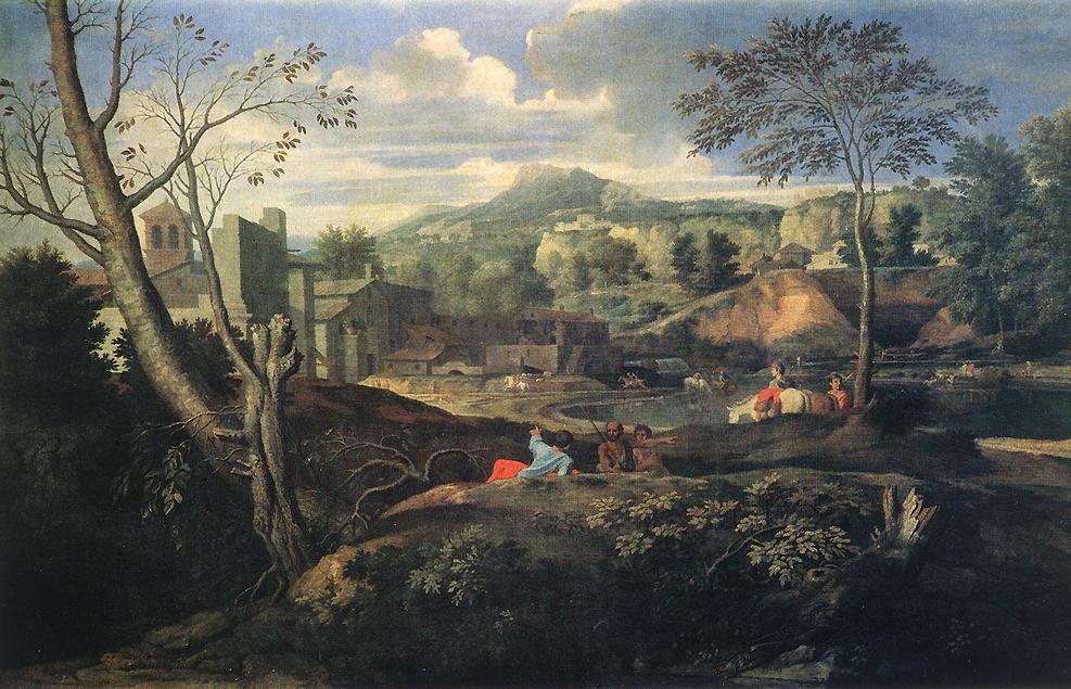 Deal Landscape 1645-50 | Nicolas Poussin | Oil Painting