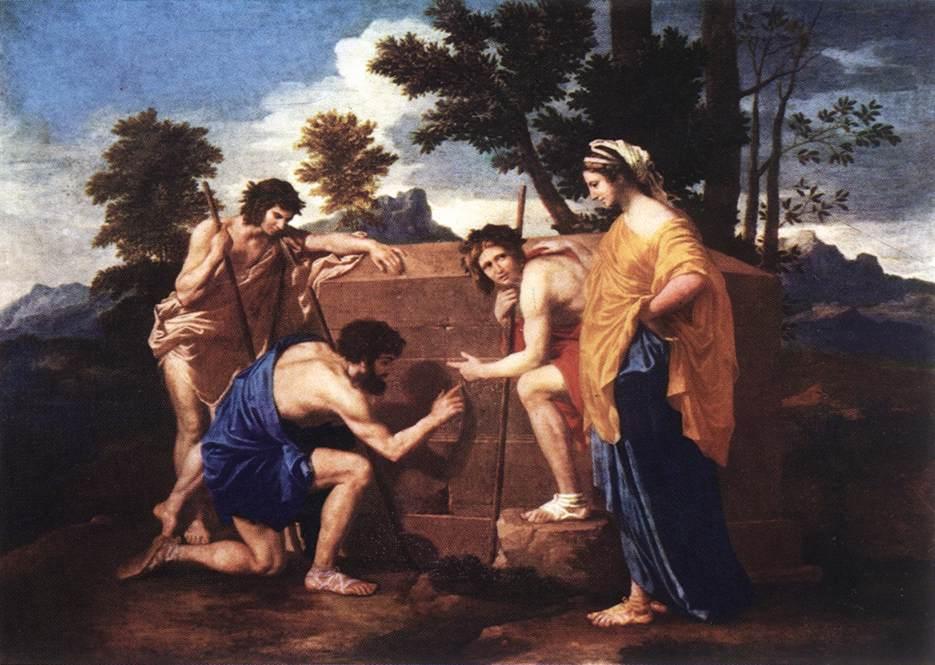 Et In Arcadia Ego 1637 | Nicolas Poussin | Oil Painting