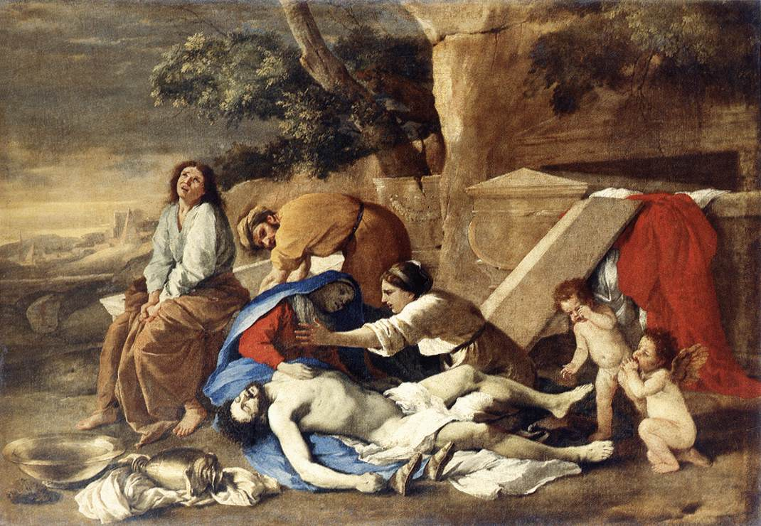 Lamentation Over The Body Of Christ 1628-29 | Nicolas Poussin | Oil Painting