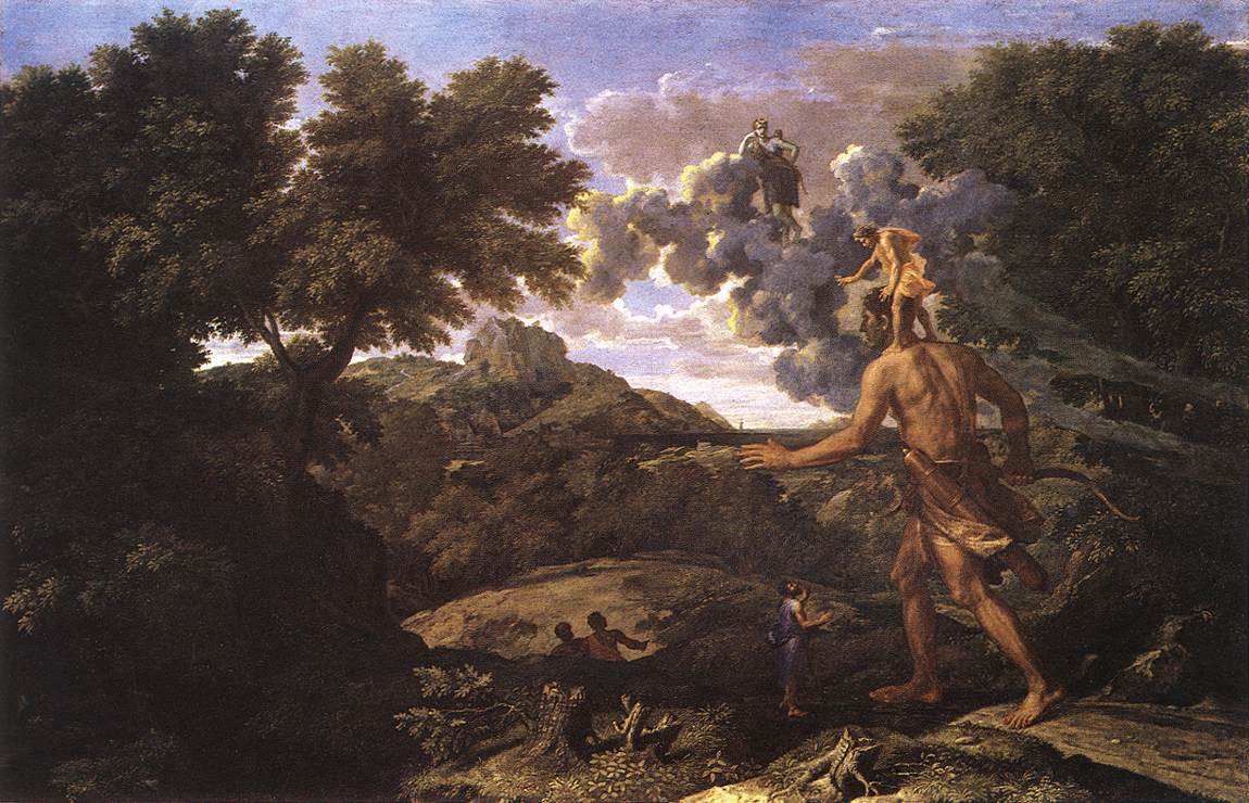 Landscape With Diana And Orion 1660-64 | Nicolas Poussin | Oil Painting