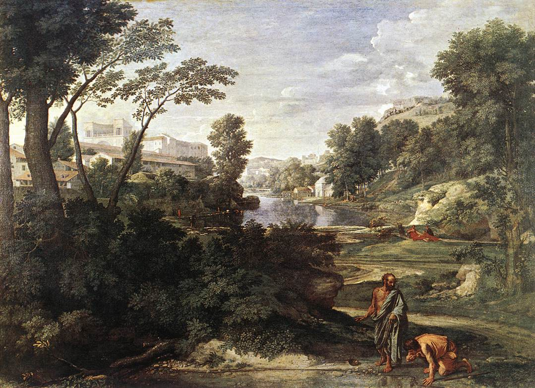 Landscape With Diogenes 1647 | Nicolas Poussin | Oil Painting