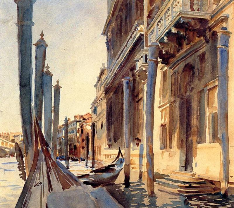 Grand Canal Venice 1907 | John Singer Sargent | Oil Painting
