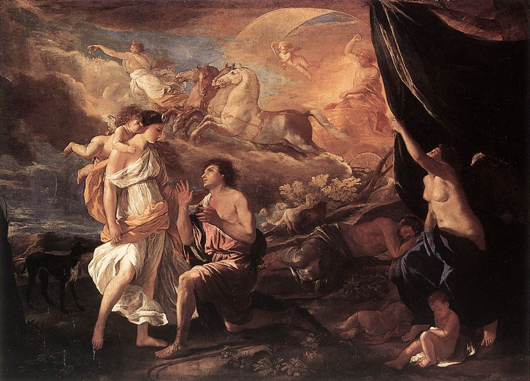 Selene And Endymion 1630 | Nicolas Poussin | Oil Painting