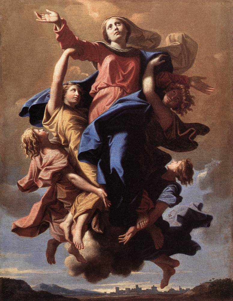 The Assumption Of The Virgin 1650 | Nicolas Poussin | Oil Painting