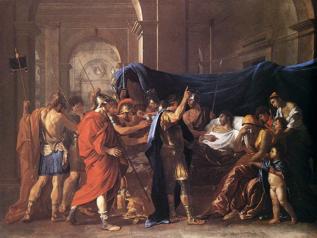The Death Of Germanicus 1627 | Nicolas Poussin | Oil Painting
