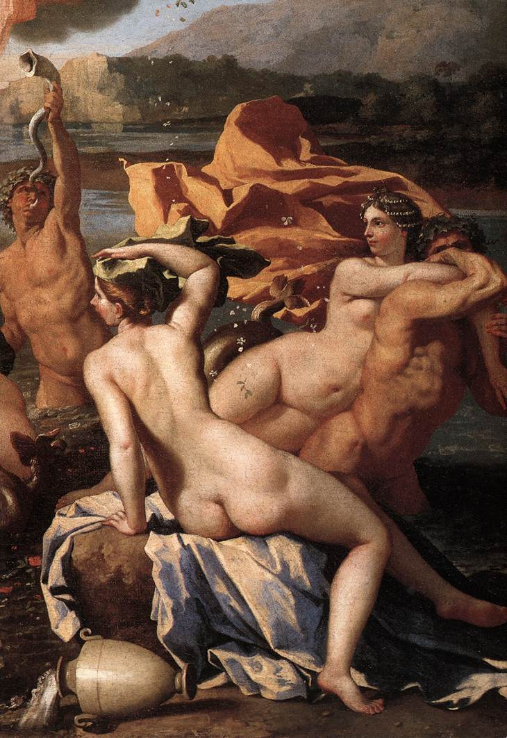 The Triumph Of Neptune Detail Ii 1634 | Nicolas Poussin | Oil Painting