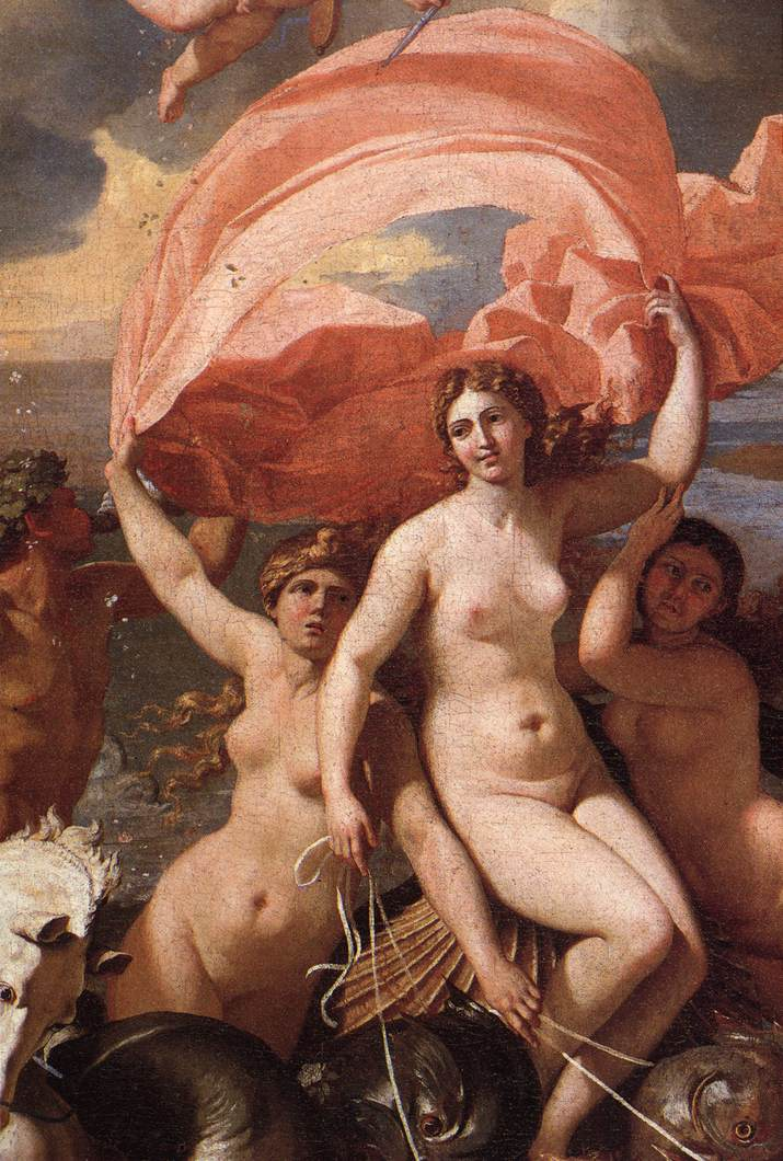 The Triumph Of Neptune Detail I 1634 | Nicolas Poussin | Oil Painting