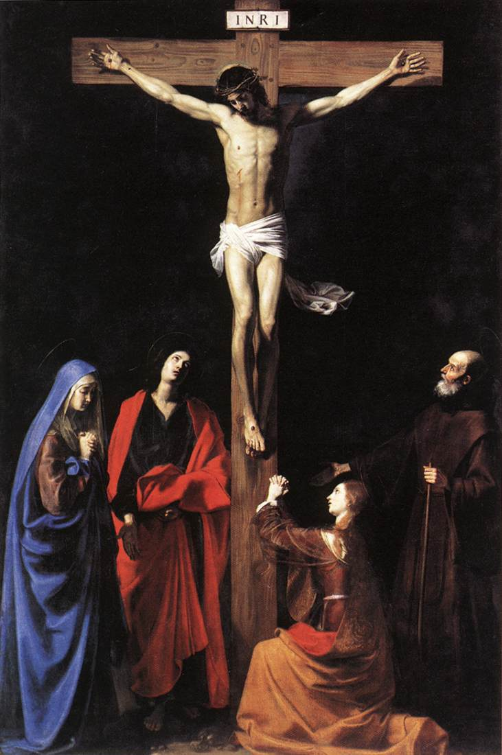 Crucifix 1635 | Nicolas Tournier | Oil Painting
