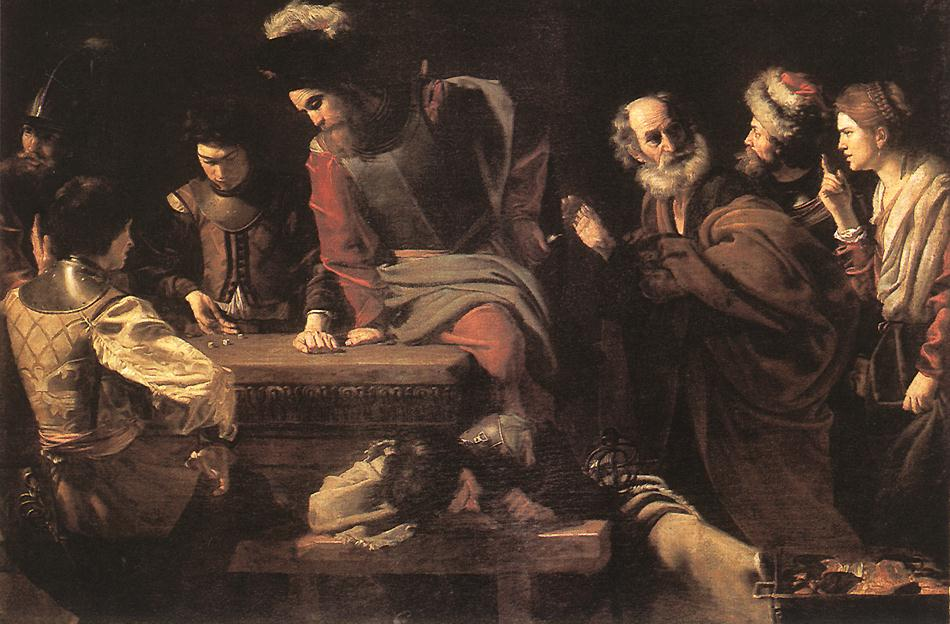 Denial Of St Peter 1625 | Nicolas Tournier | Oil Painting