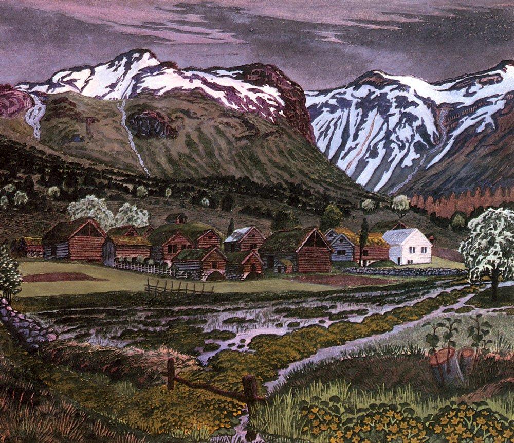 Soleienatt | Nikolai Astrup | Oil Painting