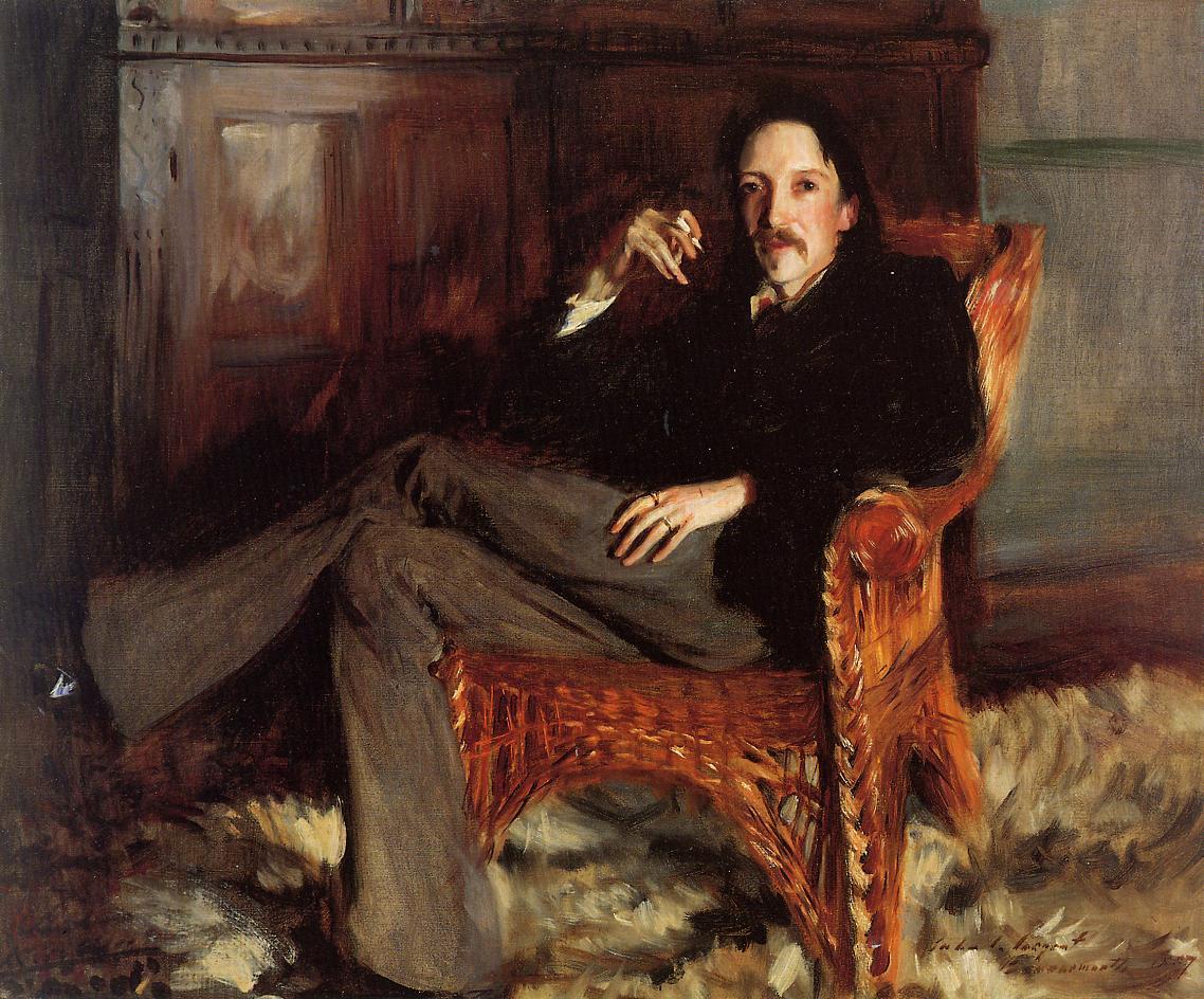 Robert Louis Stevenson 1887 | John Singer Sargent | Oil Painting