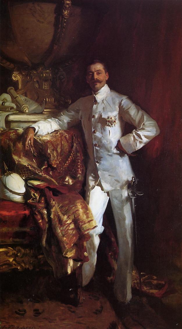 Sir Frank Swettenham 1904 | John Singer Sargent | Oil Painting