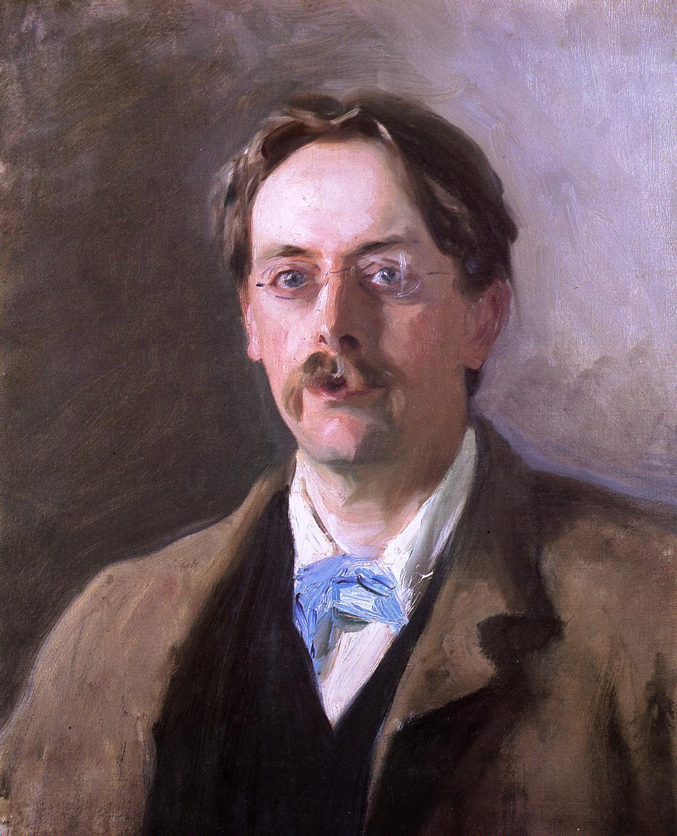 Sir Edmund Gosse 1885-1886 | John Singer Sargent | Oil Painting