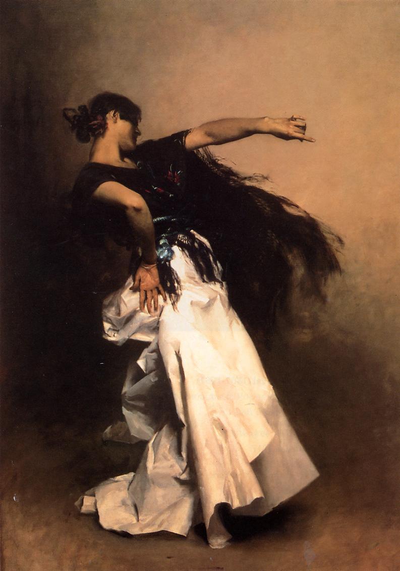 Spanish Dancer 1880-1881 | John Singer Sargent | Oil Painting