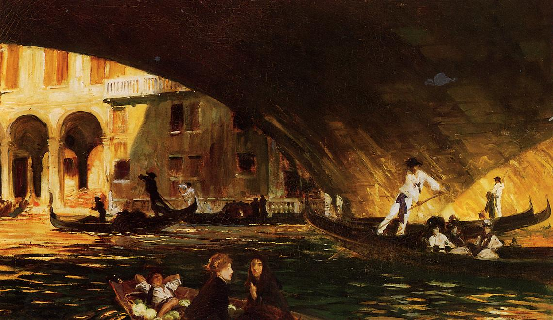 The Rialto 1911 | John Singer Sargent | Oil Painting